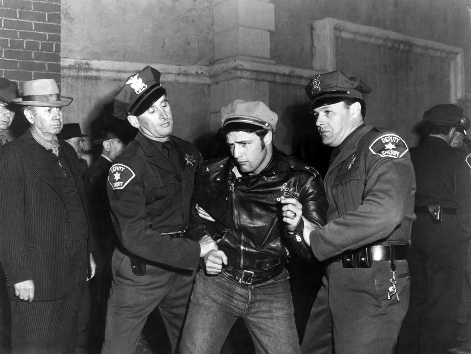 the wild one The wild one blu-ray (1953): starring marlon brando, mary murphy (i) and robert keith two rival motorcycle gangs terrorize a small town after one of their leaders is thrown in jail.
