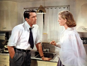 Bacall with Gregory Peck in Minnelli's 1957 comedy Designing Woman