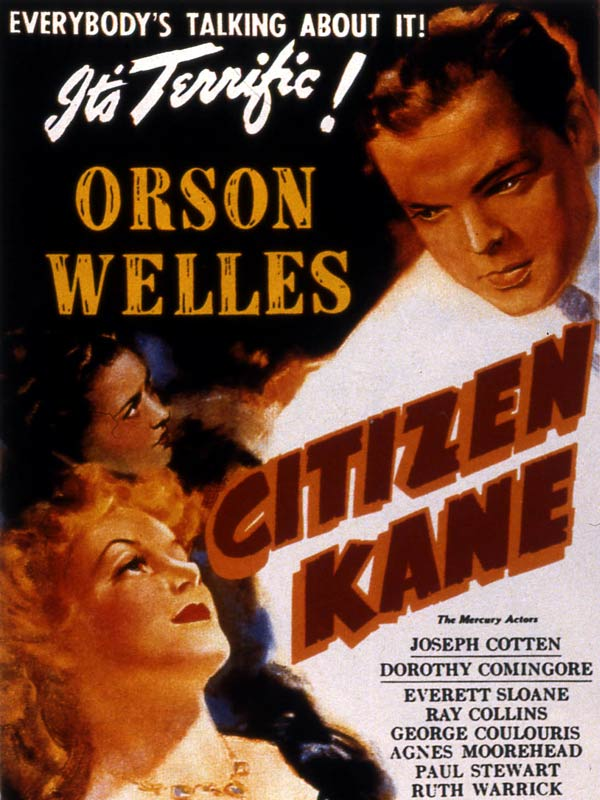 Welles, Orson: Centennial–Citizen Kane (1941), Most ...