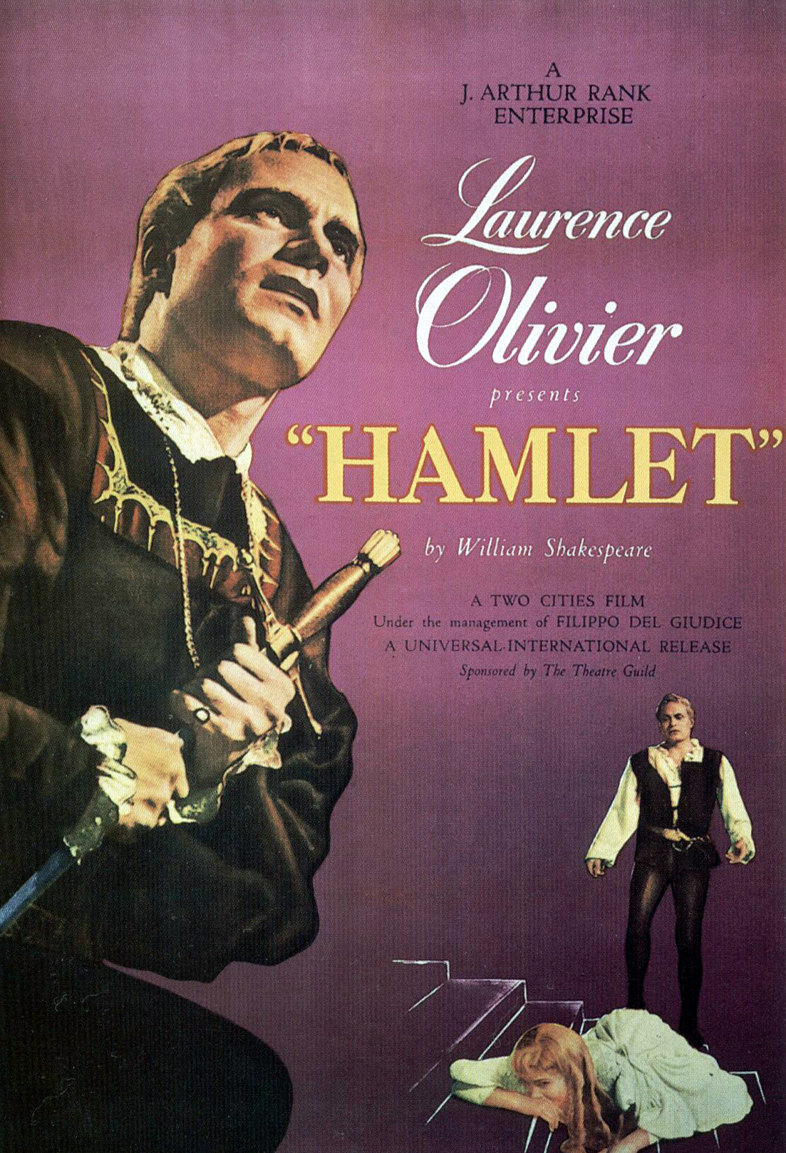 hamlet film interpretation Laurence olivier's 1948 film of hamlet establishes a male aurality that  (such  as in the film's opening, in which olivier's own personal interpretation famously.