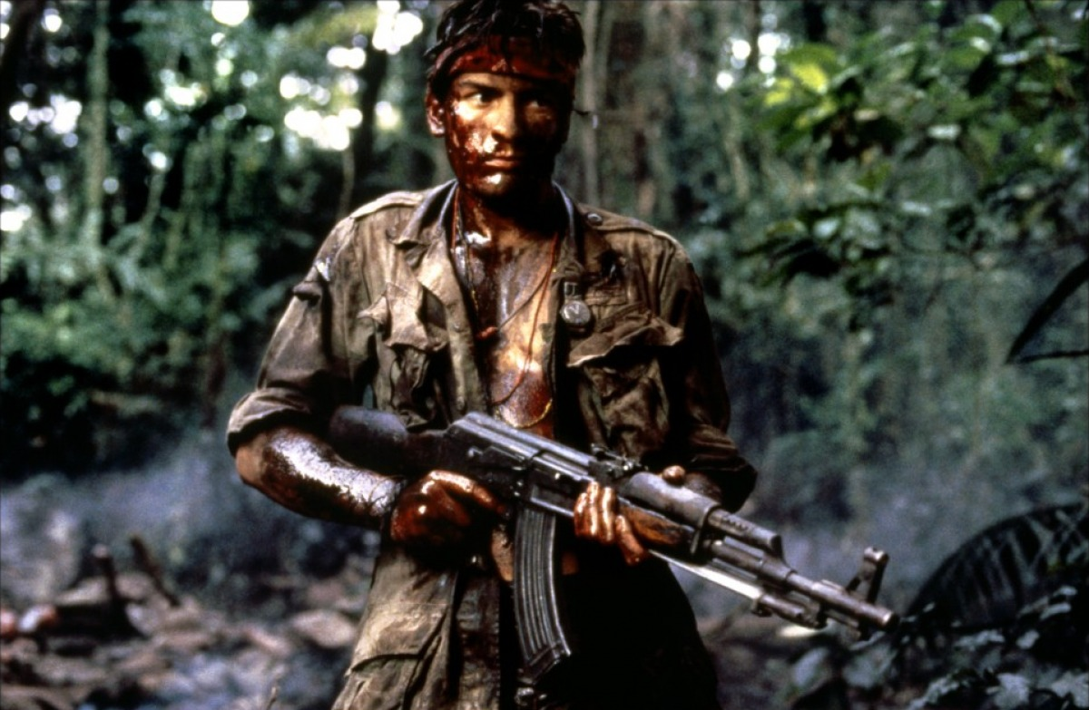 an analysis of the film platoon by oliver stone In platoon, (ua coronet, odeon showcase), writer-director oliver stone drops  us as he drops his autobiographical 19-year-old, chris taylor.