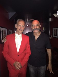With John Waters, one of the directors in my new book, Gay Directors, Gay Films? at his annual bash in Provincetown, August 2015.