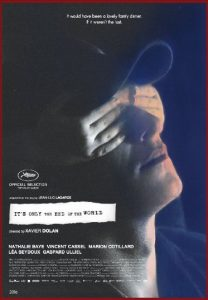 It's Only the End of the World_poster