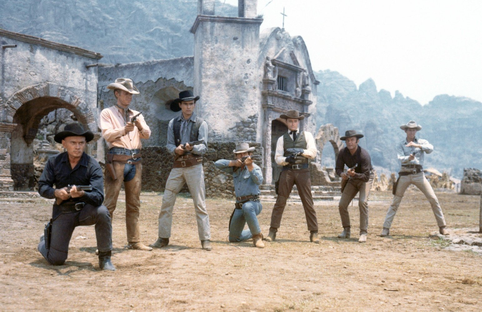 Magnificent Seven, The (1960): John Sturges Cult Classic, Starring Yul  Brynner | Emanuel Levy